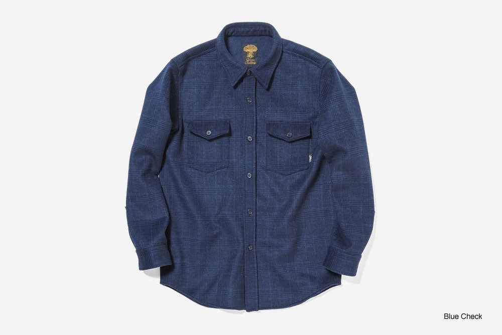 WOOL FLANNEL SHIRTS 2020 - Blue Check