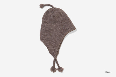 WOOL FLAP HAT