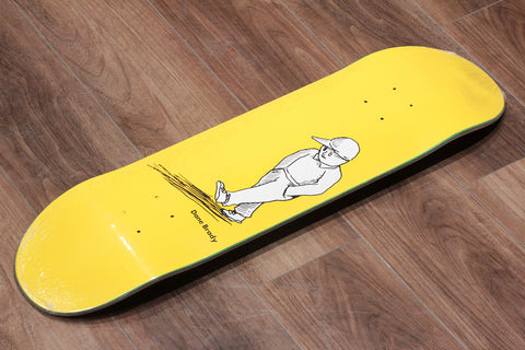 "DANE BRADY / ALONE YELLOW - 8.25"" x 31.875"""