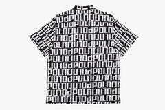 SQUARE LOGO SHIRT - Black/White SP20