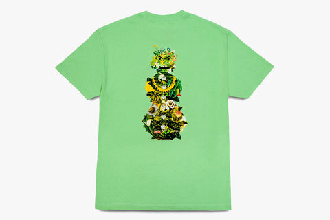 BOTANICAL SNACKMAN TEE - Mint