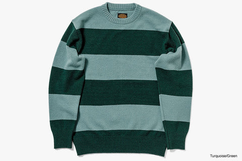 WOOL SWEATER 2020/2021 - Turquoise/Green