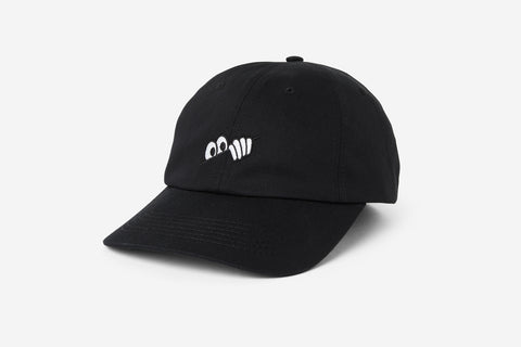 EYES 6-PANEL CAP - Black D3