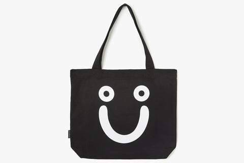 HAPPY SAD TOTE BAG - Black WIN20
