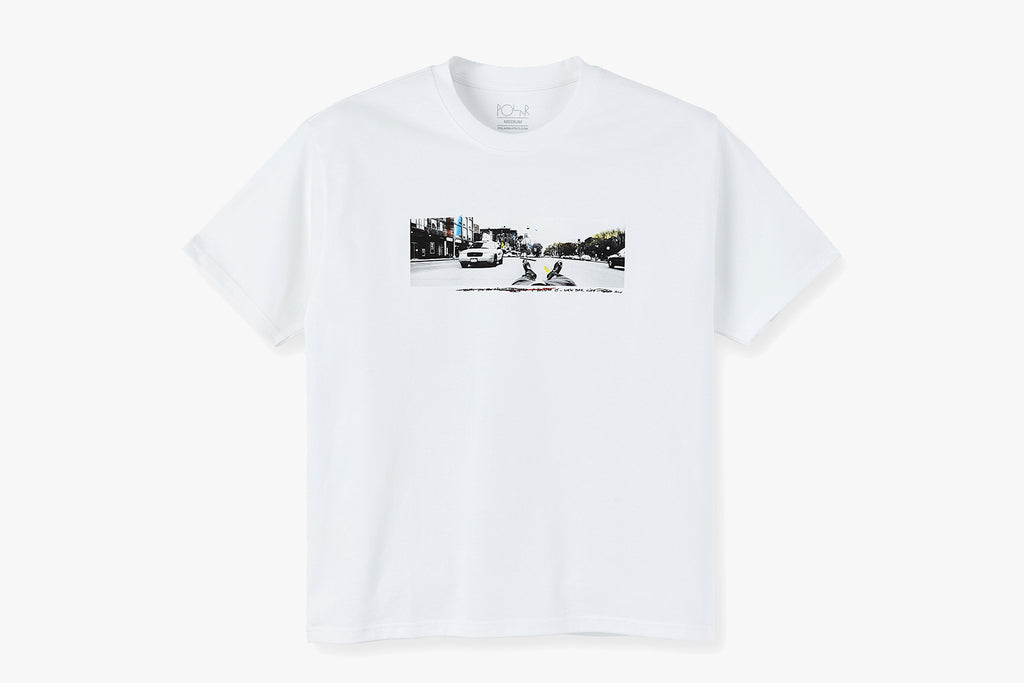 HOUSTON ST TEE - White SU20