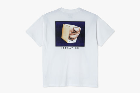 ISOLATION TEE - White SP21