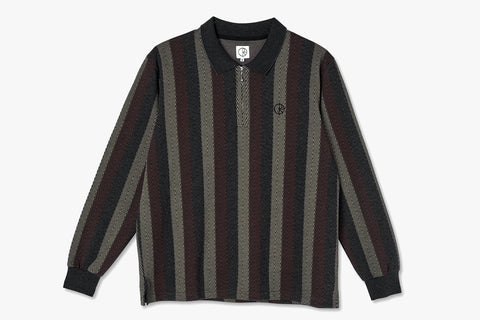 JACQUES LONGSLEEVE POLO SHIRT - Multi SP21
