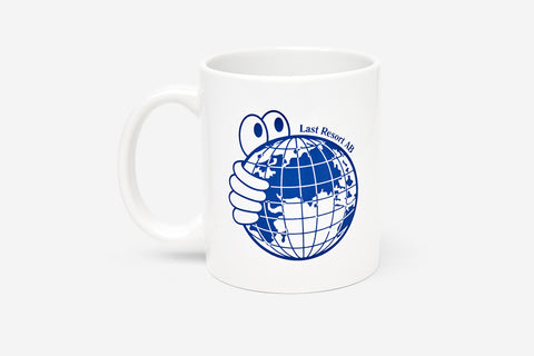 WORLD MUG CUP - Blue/White D3