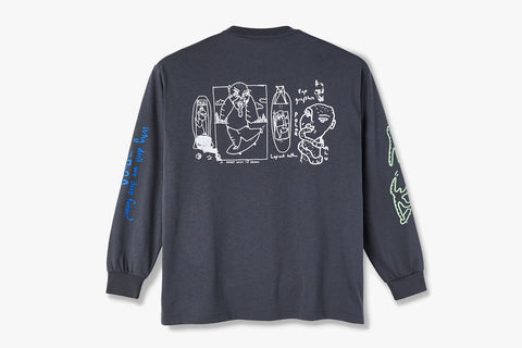 NOTEBOOK LONGSLEEVE - Graphite SU20