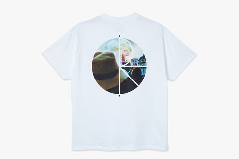 NOTRE DAME FILL LOGO TEE - White SP21
