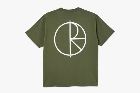 STROKE LOGO TEE - Uniform Green SP21
