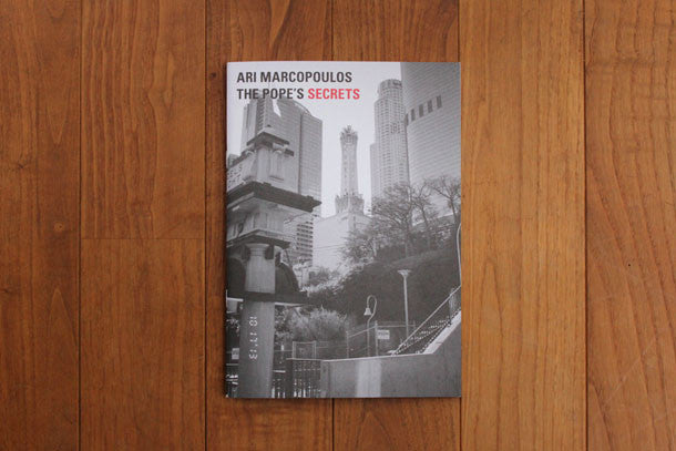 ARI MARCOPOULOS THE POPE'S SECRETS