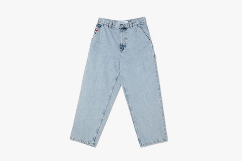 BIG BOY WORK PANTS - Light Blue FA20