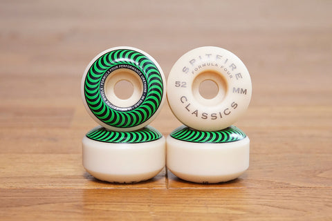 FORMULA FOUR CLASSIC WHEELS 52MM 99DURO