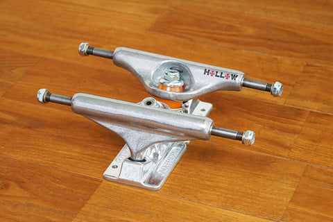 129 STAGE 11 FORGED HOLLOW SILVER TRUCKS