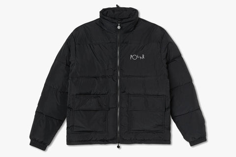 POCKET PUFFER - Black FA20