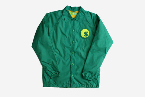 CUSTOM COACHES JACKET - Green