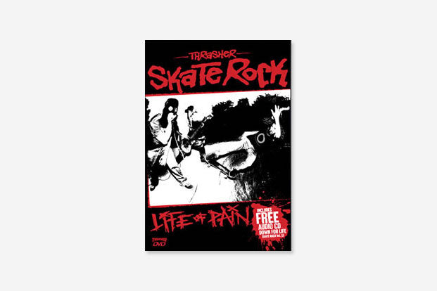 THRASHER SKATE ROCK LIFE OF PAIN