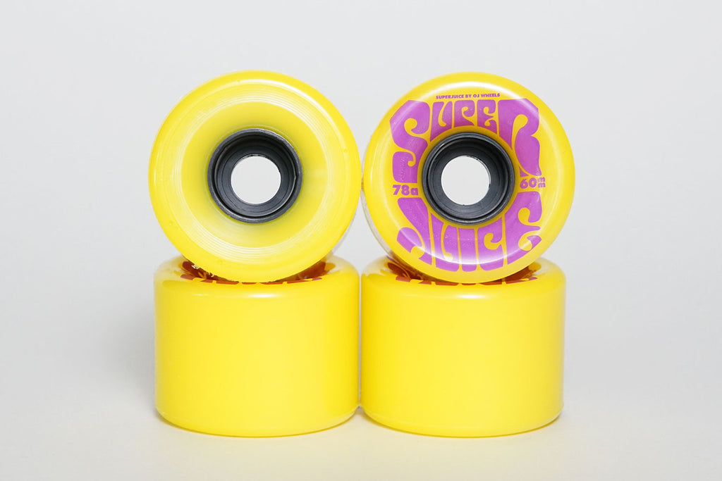 SUPER JUICE 60MM 78A - Yellow