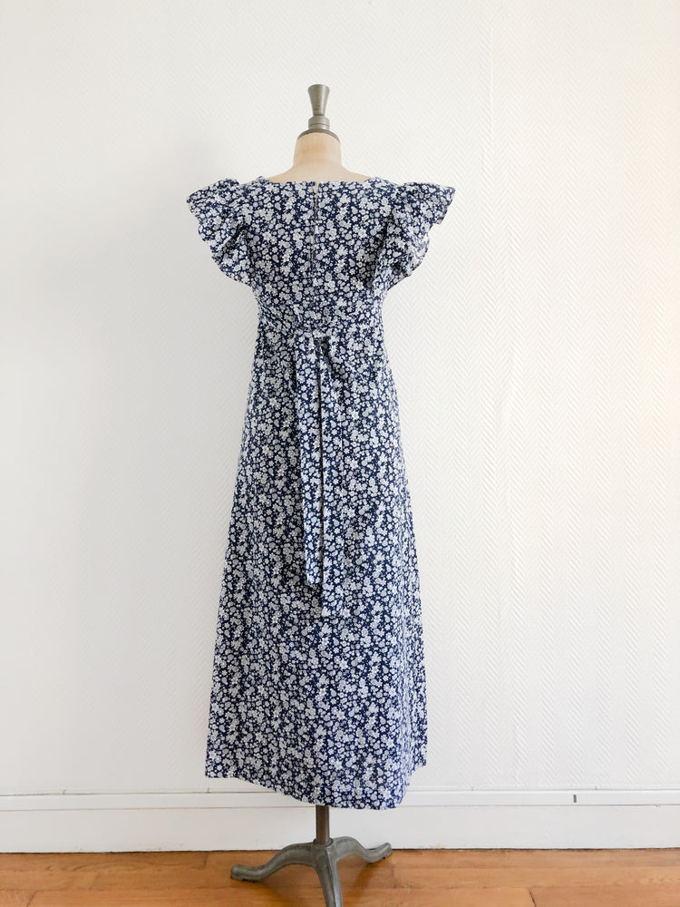 Load image into Gallery viewer, Floral Frill Maxi Dress