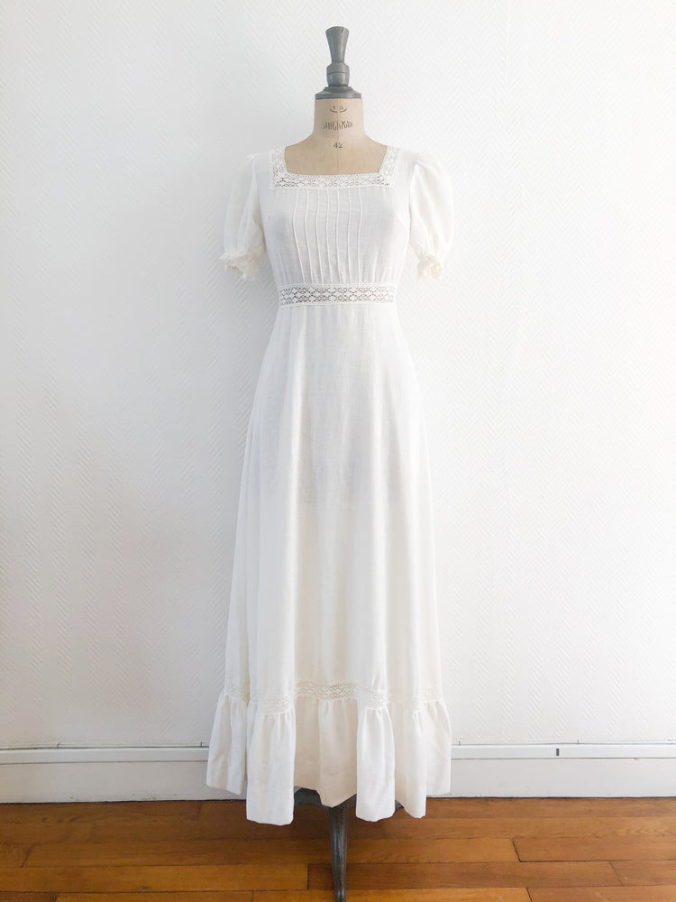 Ecru Prairie Dress