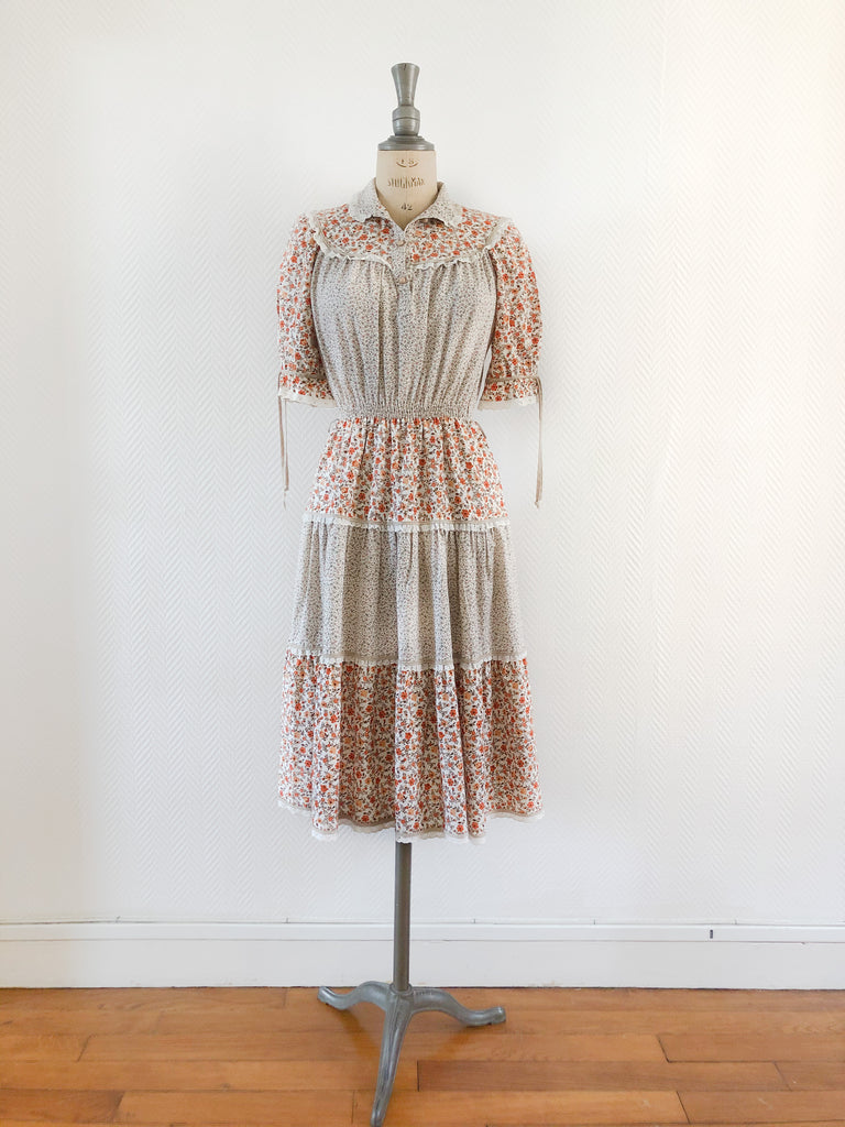 60s Patchwork Dress