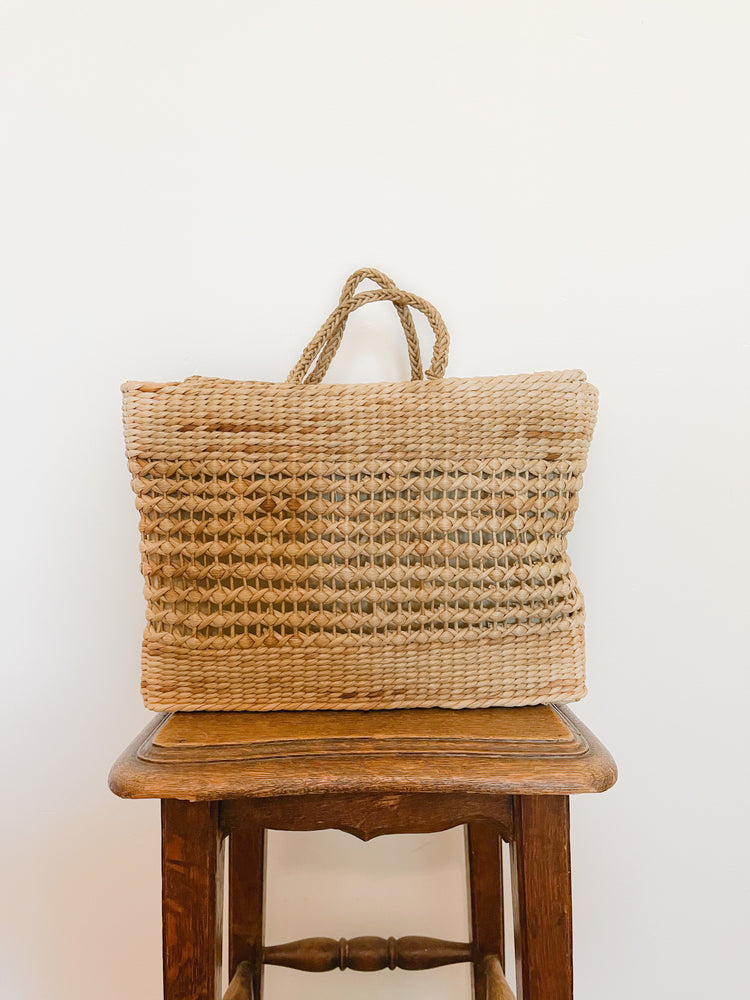 Vintage Travel Basket