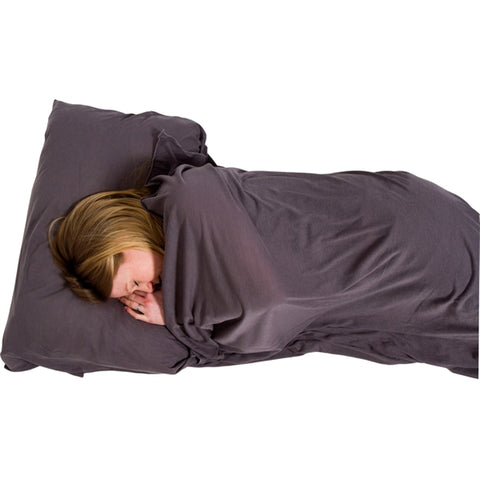 Lifeventure Cotton Stretch sleeping bag liner