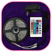 Load image into Gallery viewer, SuperBright LED-Strip (24 Button Remote)