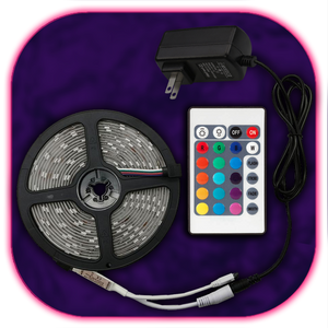 SuperBright LED-Strip (24 Button Remote)