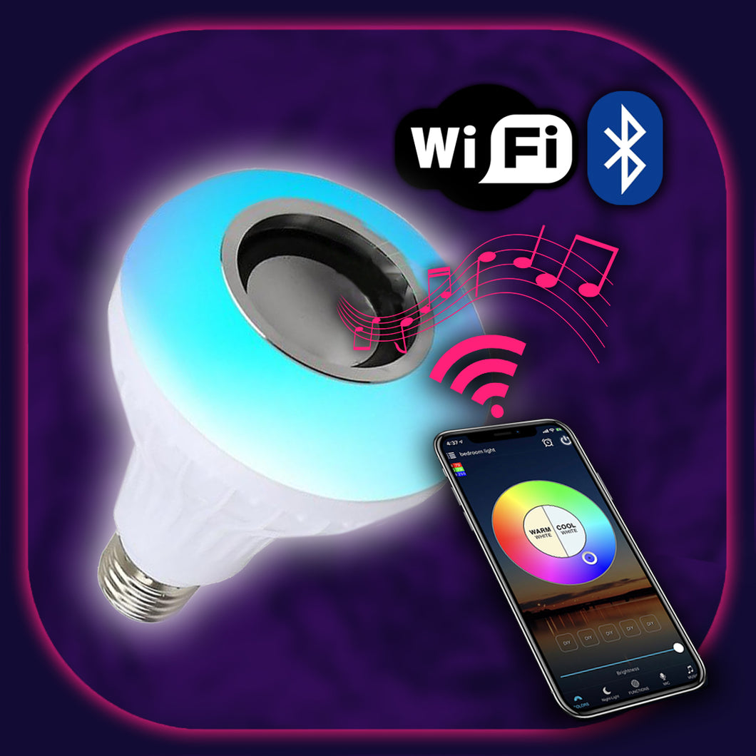 SuperHue WiFi music lightbulb