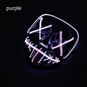 LED Stitches Purge Mask