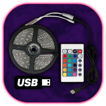 Load image into Gallery viewer, USB LED-Strip (24 Buttons)