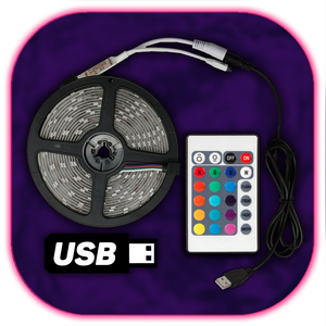 USB LED-Strip (24 Buttons)