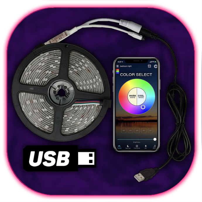 USB Smart LED-strip (WiFi Enabled)