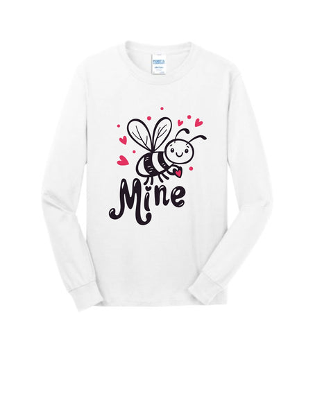 Bee Mine Long Sleeve Valentine's Day Shirt
