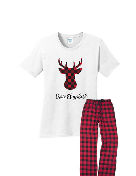 Moose Christmas PJs | Adult