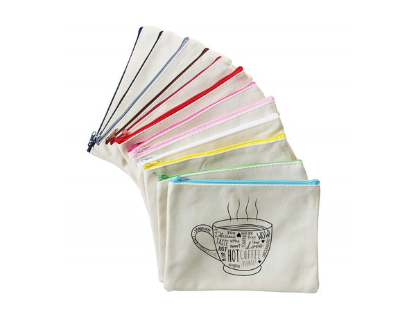 Hot Coffee | Zippered Pouch