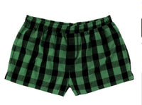 Women's Buffalo Plaid Shorts | Monogrammed