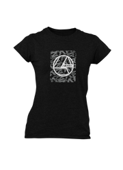 Box Logo Ladies' Tee - Shop Azara Wheels