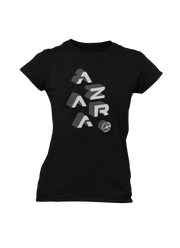 Blocks Ladies' Tee - Shop Azara Wheels