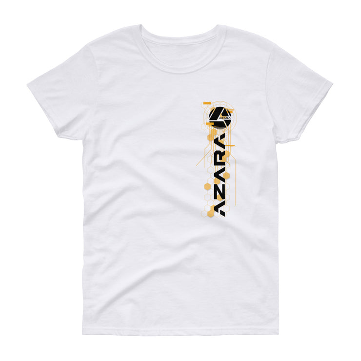 Women's short sleeve t-shirt - Shop Azara Wheels