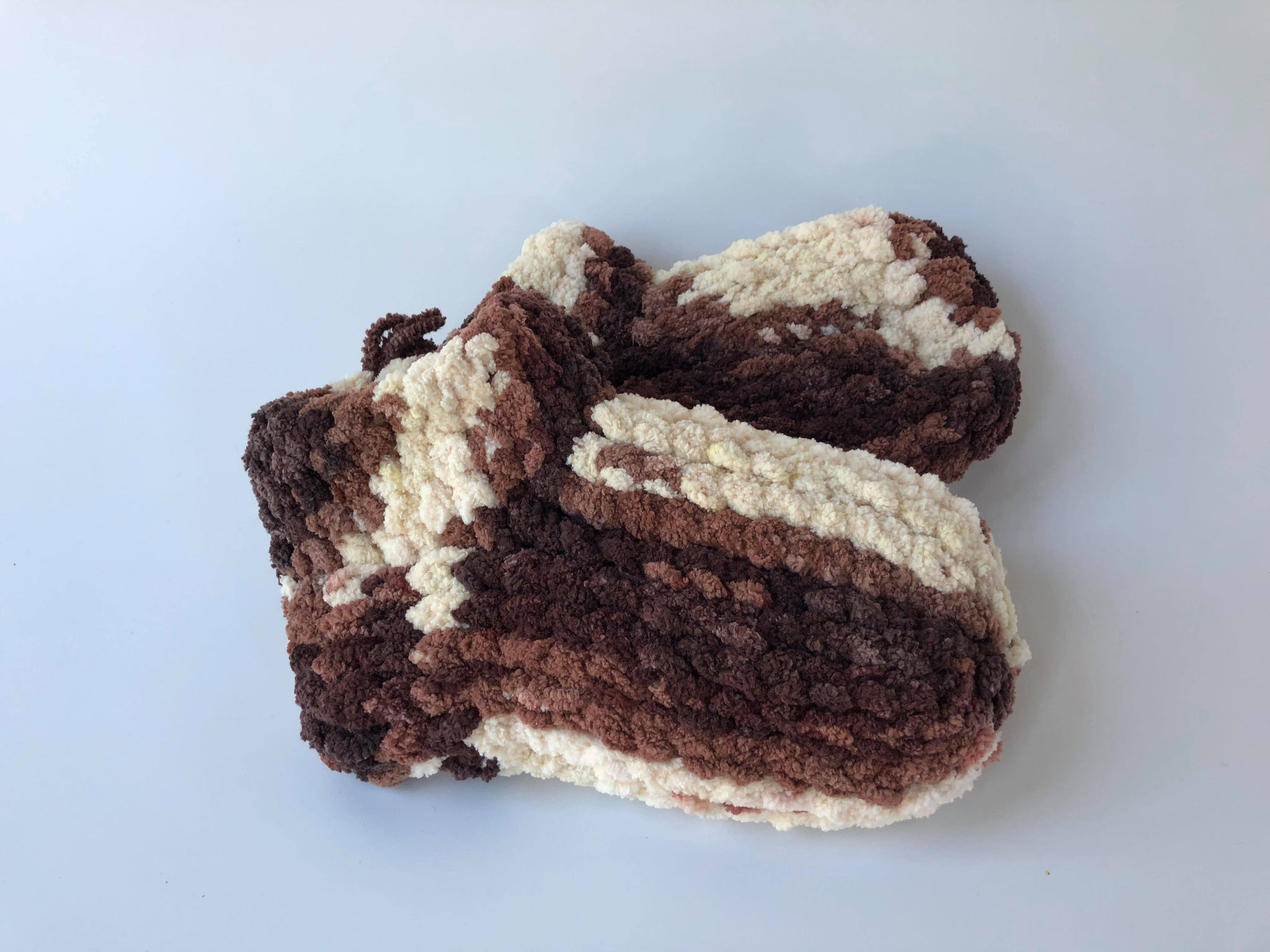 Blanket Yarn Slippers