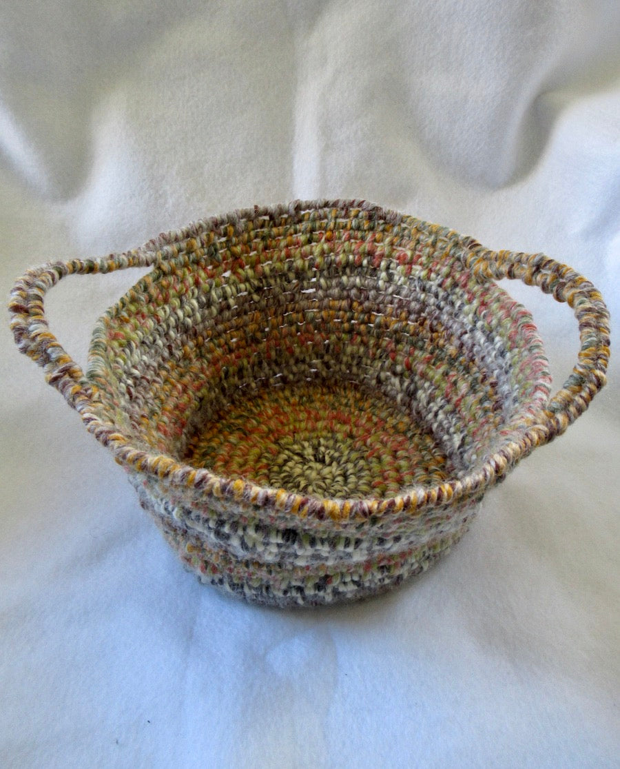 Yarn Wrapped Basket