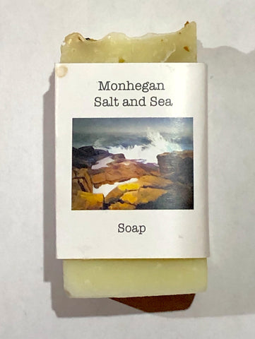 Soap-Monhegan Salt and Sea!