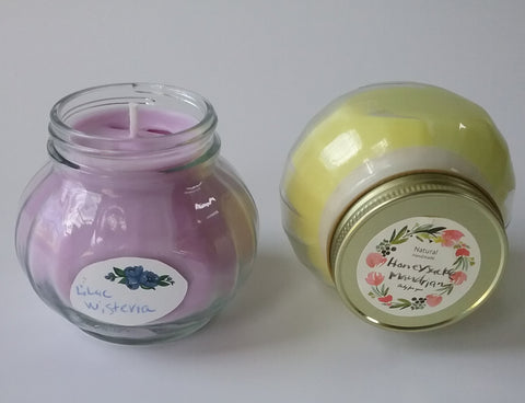 Candles -two scents available