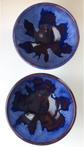 Blue Earthenware Bowl