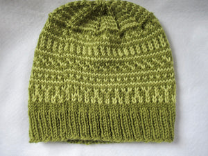 Original Design Hand Knit Hat - #105