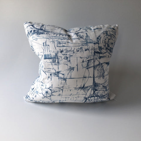 Schooner Pillow