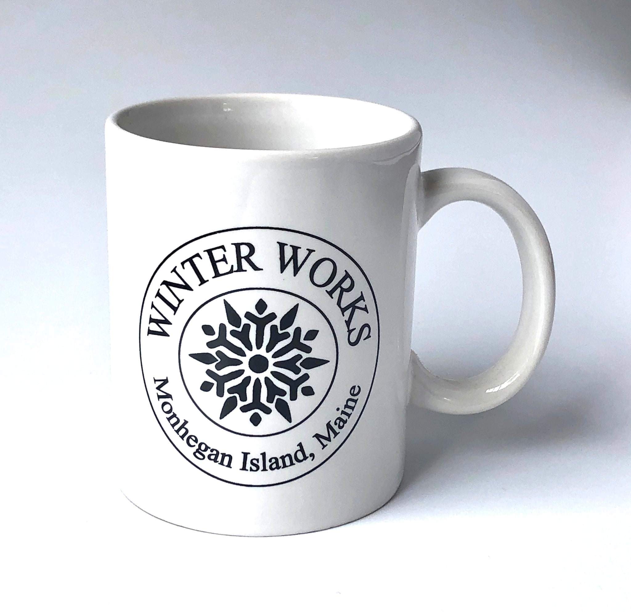 Winter Works Logo Mug